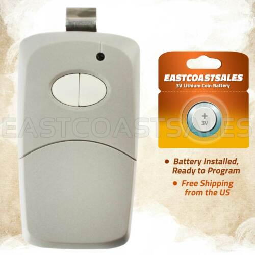 For 3089 multi-code multicode 308911 Linear MCS308911 300mhz 2 button remote