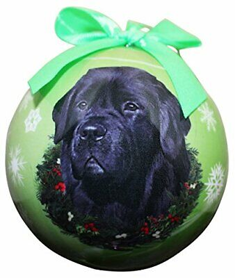 "Other Cat Supplies Ambitious ""newfoundland Christmas Ornament"" Shatter Proof Ball Easy To Personalize Be Novel In Design"