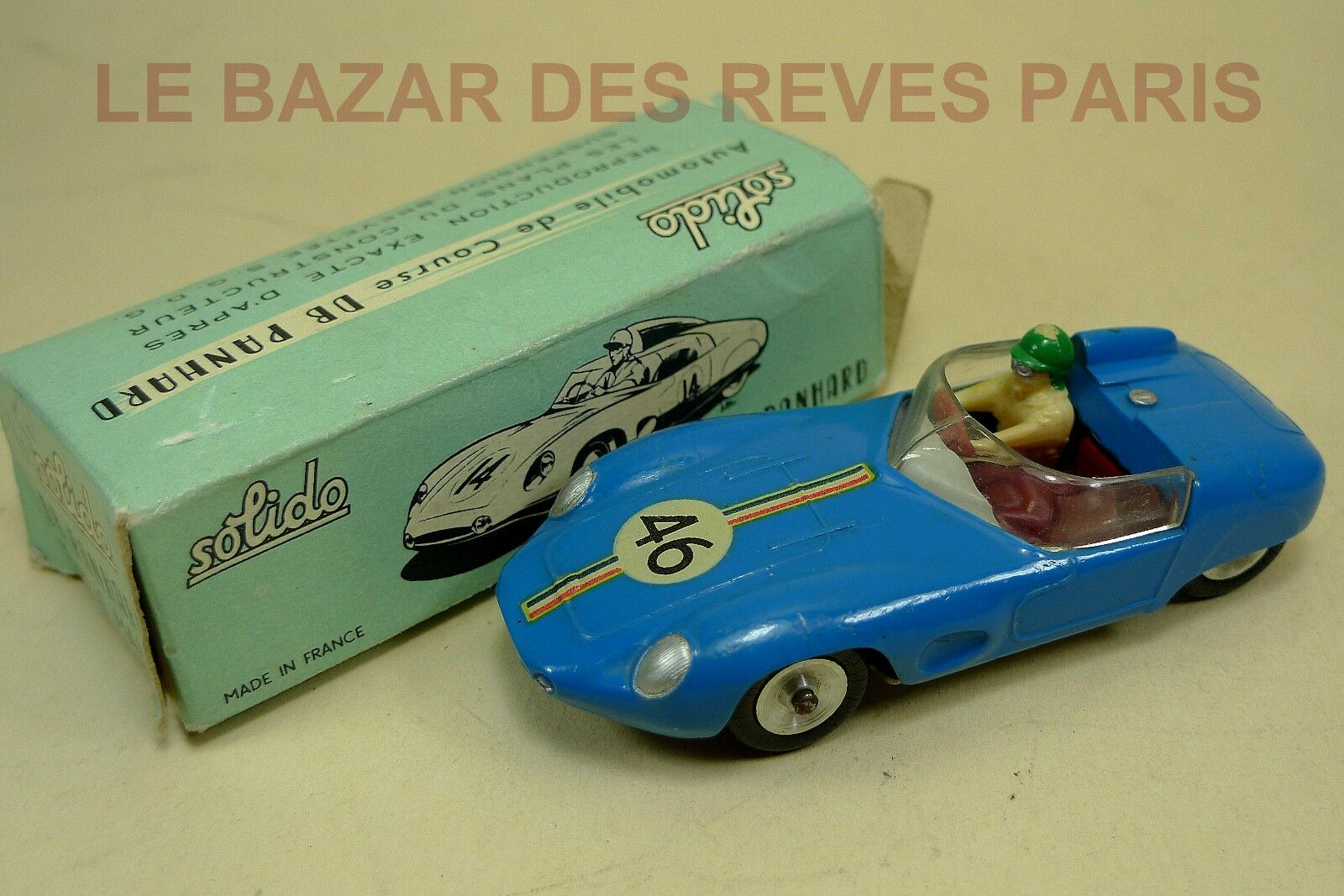 Solido france. series 100. db panhard ref  112+  box.  le plus préférentiel