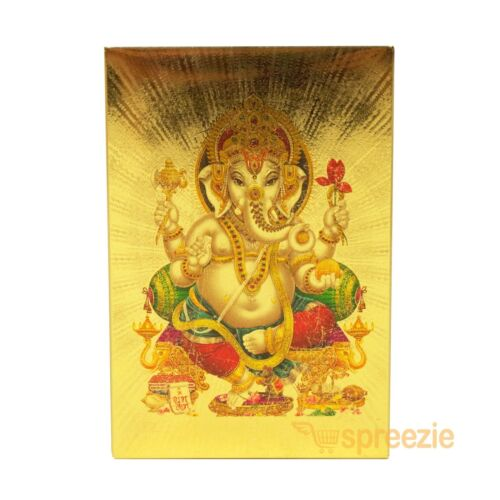 Toys Hobbies Ganesha Gold Playing Cards 24k Foil Plated Full Deck Poker Gamble Waterproof New Playing Cards Coronapack Ba