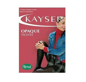 2697c026b5af0 WOMENS 5 PACK KAYSER 70 DENIER OPAQUE TIGHTS Stockings Pantyhose ...
