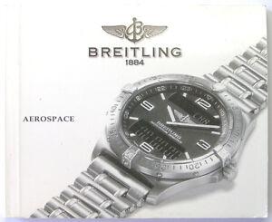 breitling aerospace instruction manual book guide booklet i199 ebay rh ebay com breitling aerospace owners manual breitling aerospace owners manual