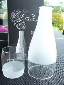 Philippi-Design-Duett-Vase-S-Neu-Glas-2-teilig-Sonderangebot-185002-Geschenk