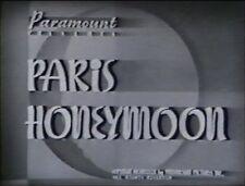 PARIS HONEYMOON 1939 (DVD) BING CROSBY, FRANCISKA GAAL,SHIRLEY ROSS