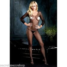 CATSUIT Bodystocking Aperta tuta SEXY Lingerie shop intimo suspender hot