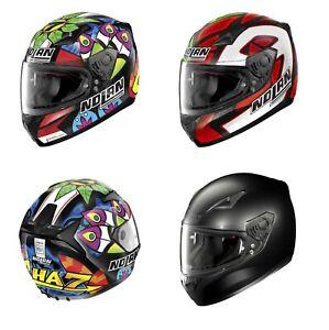 inferencia fácil de lastimarse Dictado  2018 nolan n60-5 full sports road motorbike pinlock helmet Gemini/Classic |  eBay