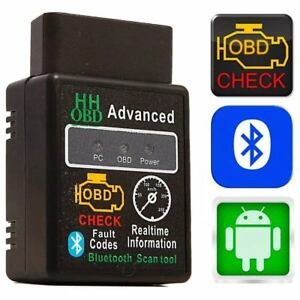BMW OBD2 Bluetooth Android Handy ELM327 KFZ Interface Diagnose Scanner Adapter