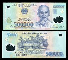 VIETNAM 500,000 500000 DONG 2012 POLYMER P 124 UNC