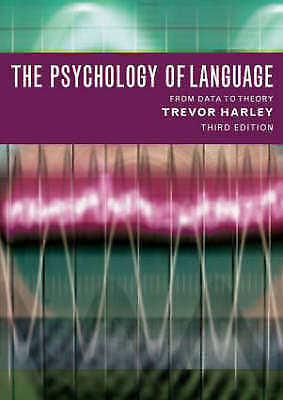 1 of 1 - The Psychology of Language: From Data to Theory, Acceptable, Trevor A Harley, Bo