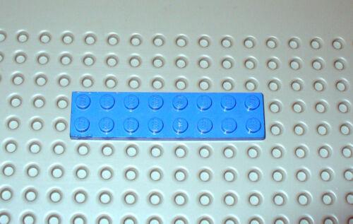 Lego ® Construction 1 Plaque Bleue Blue Plate Platten 2x8 Ref Lego 3034     LB03