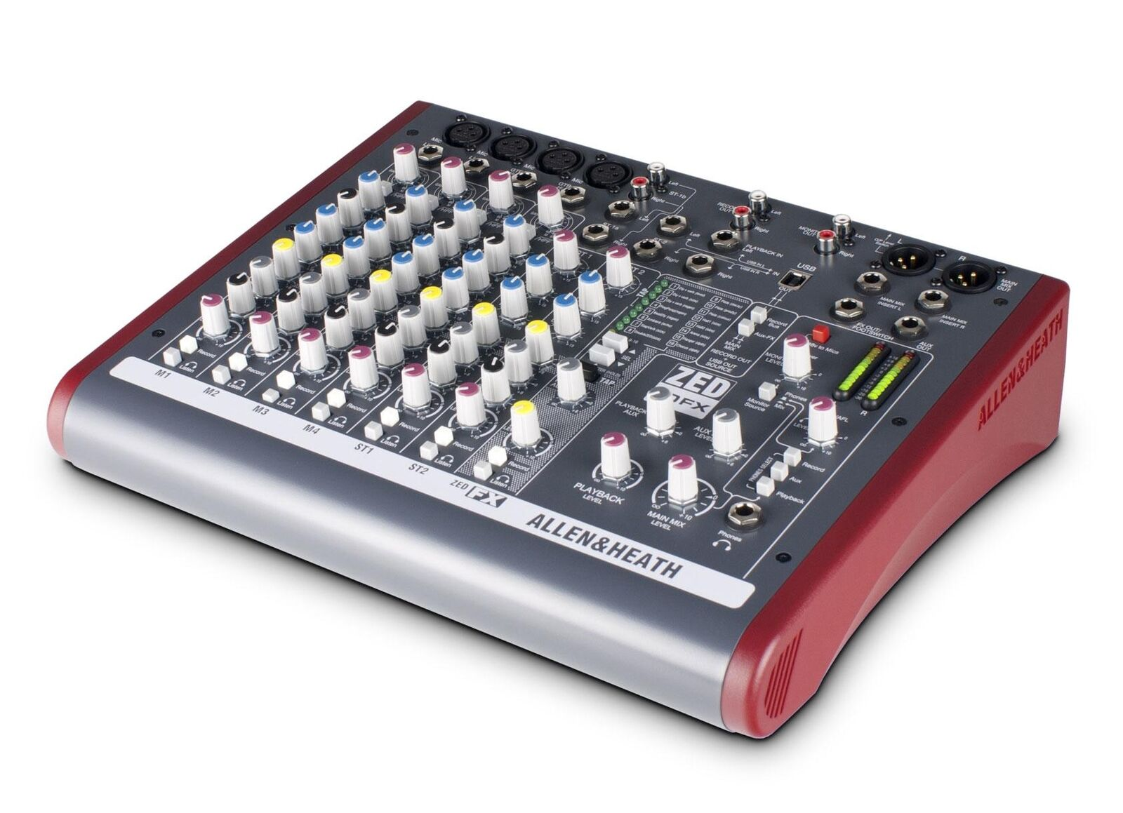 Top Allen & Heath zed-10fx 6 canali Mixer per stage e studio con effetti