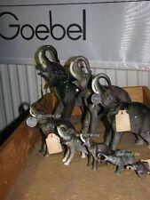 +# A001896_01 Goebel Archiv Muster Set 8 Elefanten Elephant CW327 TMK2 Plombe