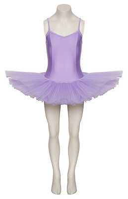 Lilac Plain Front Dance Ballet Tutu Leotard All Sizes By Katz Dancewear
