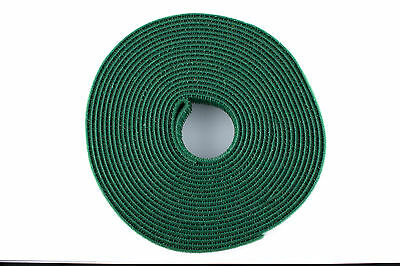 Double Sided Hook and Loop Roll Green 3//4 inch 5 Yard 15 Feet