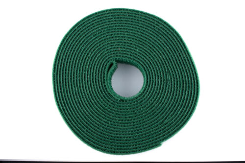 3//4 inch 15 Feet 5 Yard Green Double Sided Hook and Loop Roll