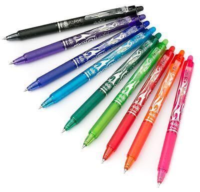 Clicker 0.5 Erasable Rollerball Pen Refills in 7 Colours Pilot Frixion Ball