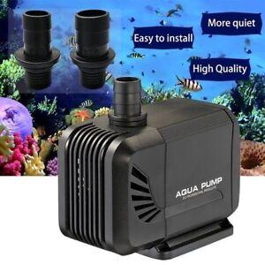 Submersible Water Pump Fish Pond Aquarium Tank Waterfall Fountain Sump Feature Pet Supplies