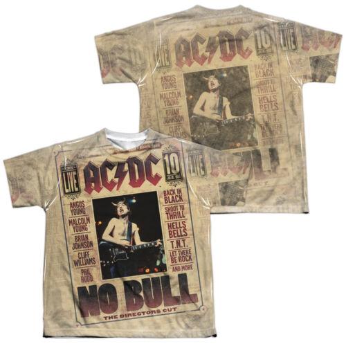 ACDC LOGO Kids Licensed Graphic Band Tee Shirt SM-XL Boys Girls Sizes 6-20