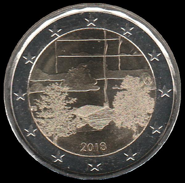 2 Euros Commemorative - Finlande 2018 - Culture Du Sauna - Neuve De Rouleau