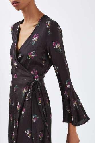 Us4 Us 6 Floral 2 85 Størrelse 36 Av Kjole £ Midi Boutique Rrp Elegant 34 Topshop 8 UWHqAzOw