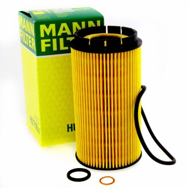 MANN-FILTER Ölfilter HU 718 x für HYUNDAI CHRYSLER KIA JEEP TRAJET VOYAGER FÉ JM