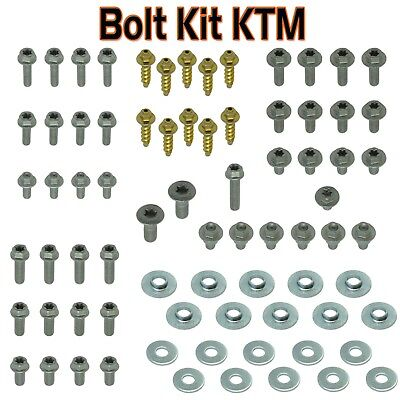 KTM Bottle Cage Bolt Kit Screw Set