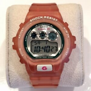 Casio G Shock Club G VINTAGE DIGITAL WATCH Jelly Peach GXS 6MsTB