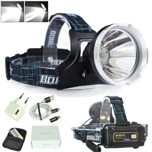 XM-L2-LED-Rechargeable-Headlamp-Hunting-Headlight-18650-Torch-Lamp-Light-CHY