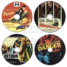 Film-Noir Crime Movie DVD Collection: Impact, Detour, Whispering City, Appoin...