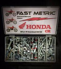 150pc HONDA BOLT KIT CR250R CR125R