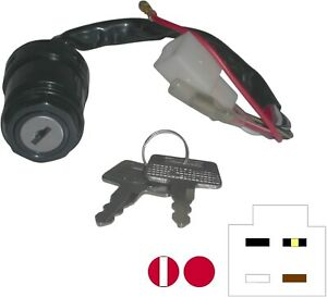 736010-Ignition-Switch-for-Kawasaki-AE50-80-AR50-80-6-wires-see-desc-592001H