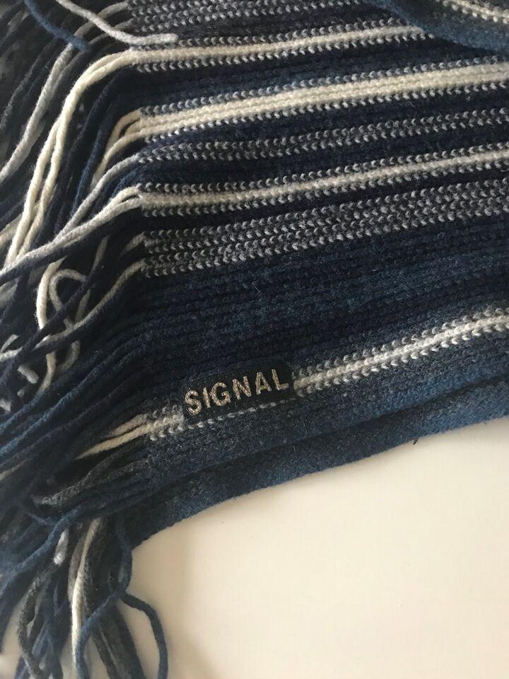 Halstørklæde, Signal, Ubrugt