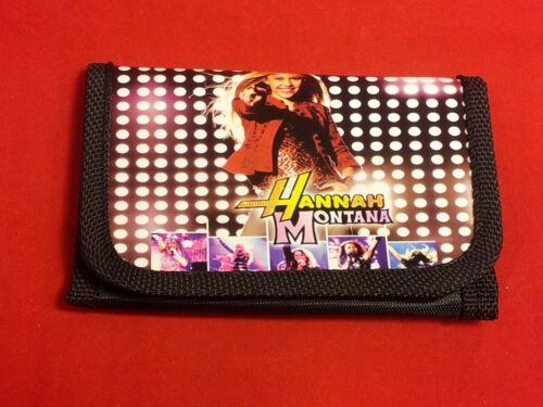 4 Colors//Styles Girl/'s//Kid/'s Hanna Montana Tri-Fold Wallet