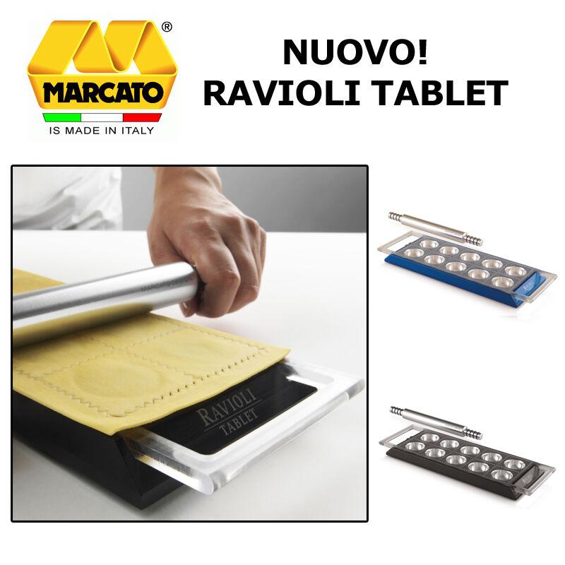 MARCATO DESIGN NUOVO TABLET RAVIOLI FATTI IN CASA CON MATTERELLO PASTA FRESCA
