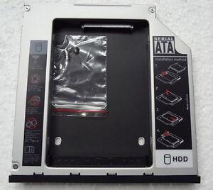 2nd-SATA-HDD-Hard-Disk-Drive-caddy-for-Dell-Latitude-E6410-E6420