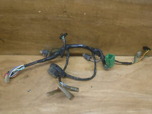 2 1989 89 honda elite 50 oem handlebars handl bar bars wiringimage is loading 2 1989 89 honda elite 50 oem handlebars