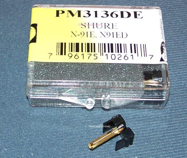 TURNTABLE NEEDLE STYLUS SHURE HI-TRACK M-91 92 N-91ED 4761-DE 761-DE PM3136DE
