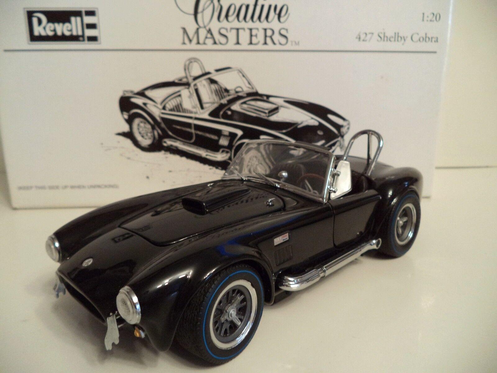 REVELL Creative Masters Shelby Cobra 427 échelle 1 20 en boîte.