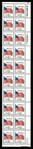 1994-Sc-2881-black-G-Rate-32c-MNH-plate-number-1111-strip-LR