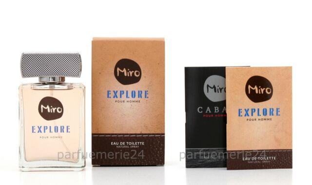 MIRO Explore EdT Natural Spray 75ml +2 Gratis Proben