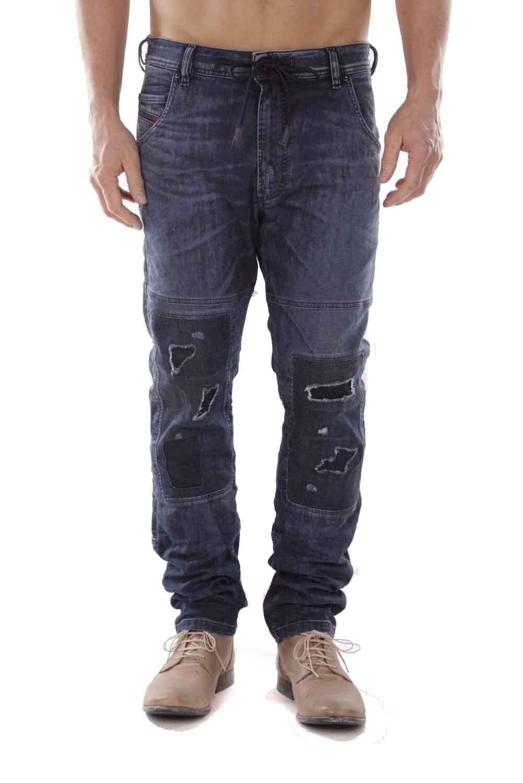 Diesel Krooley D-Ne 0675Z Jeans Pantaloni men Jeans da Jogging