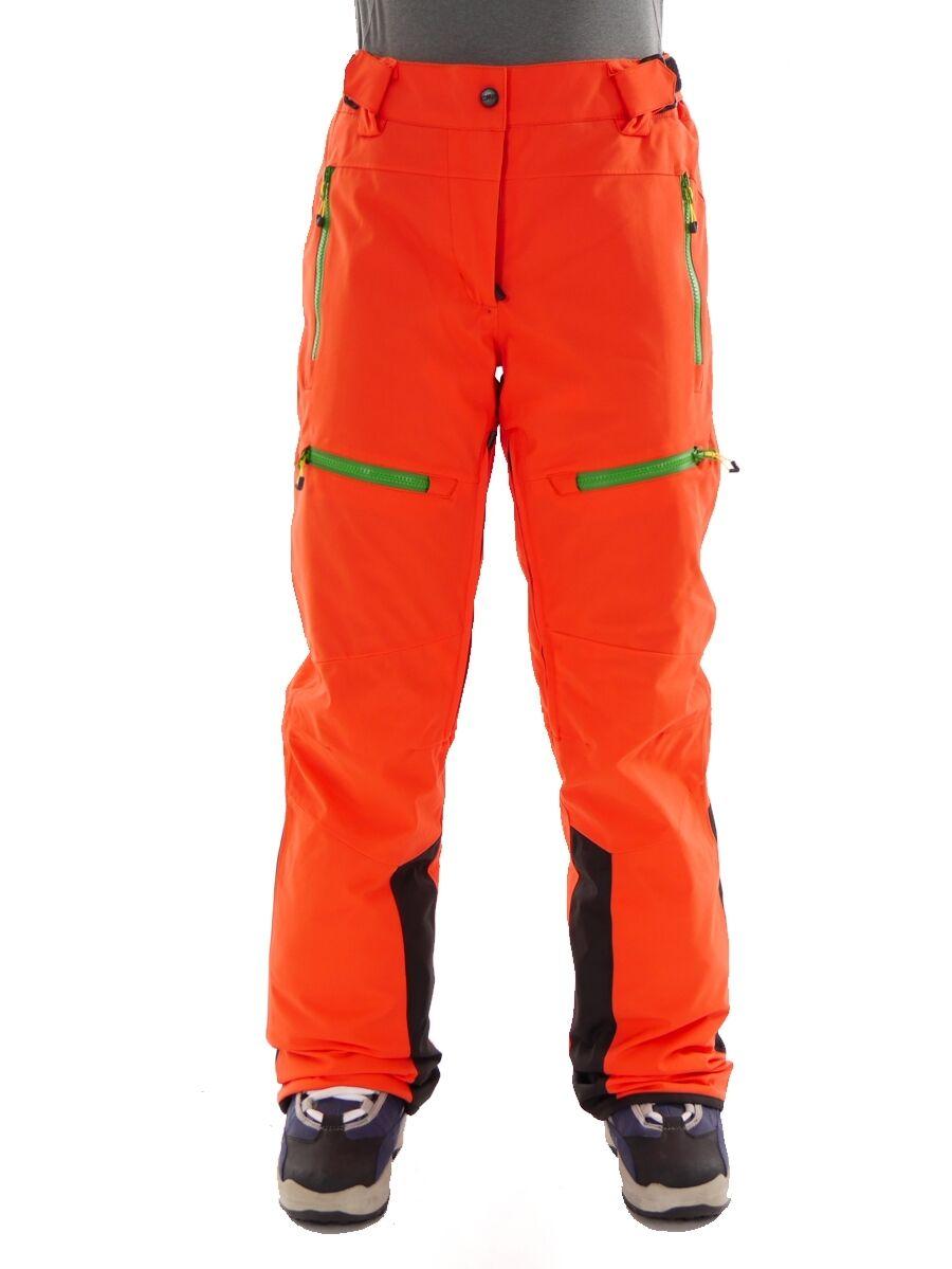 CMP Yorkton Inverno Pantaloni Snowboard Pantaloni arancia ClimaProtect ® Velcro caldo