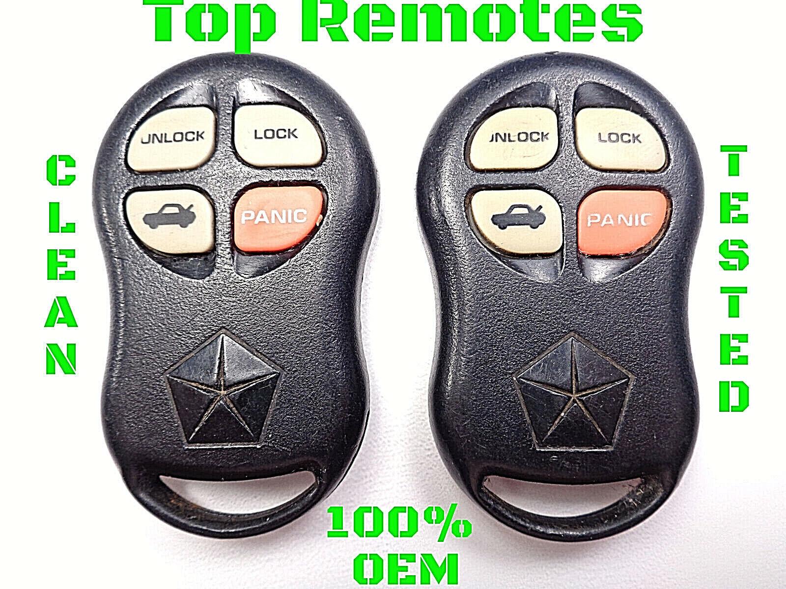 KYPTX002 Chrysler Sebring Remote Key Fob Remote OEM 1997 1998 1999 2000