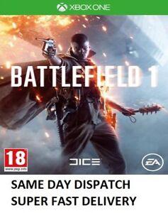 Battlefield-1-Xbox-One-Microsoft-Xbox-One-2016-Menta-consegna-super-veloce