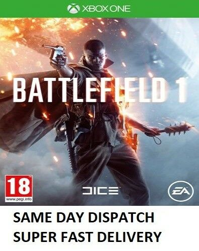 Battlefield 1 Xbox one (Microsoft Xbox One, 2016) - MINT - Super Fast Delivery