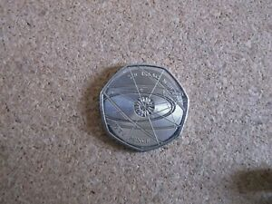 Sir-Isaac-Newton-50p-Fifty-Pence-coin-2017-Free-Postage-Uncirculated