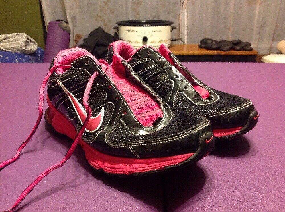 reax fusée nike athlétique taille rose Basket s  condition athlétique nike des chaussures noires 9,5 b06baa
