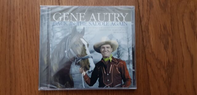 Gene Autry Back In The Saddle Again 16 Track CD New and Sealed