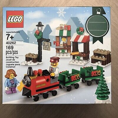 Lego New Sealed Set 40262 ~ Train Ride Christmas 2017 Holiday Seasonal Limited