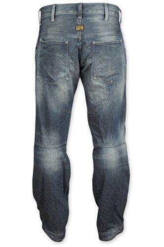 "G-STAR Raw Homme 5620 3D LOOSE Jeans 28 /""x 32/"" Bnwt forêt Denim Medium Aged T P"